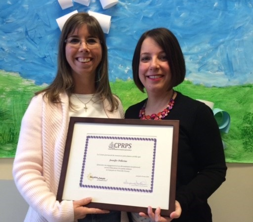 CPRPS Recognizes Jennifer Pellerine